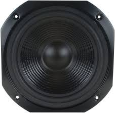 Subwoofers Parts Express 10 Square Frame Paper Cone Woofer Black Car  Electronics & Accessories