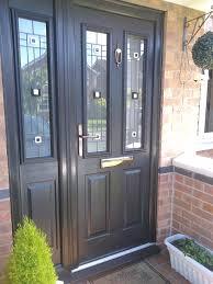 high security screen doors. Composite Door With Side Panel High Security Screen Doors