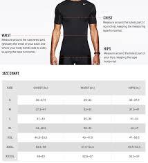 Nike T Shirt Size Chart India Nike T Shirt Size Chart India