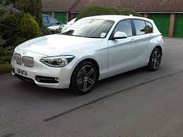 All BMW Models bmw 1 series mineral white : ON THE LOT: New Mineral White 116i Sportline F20