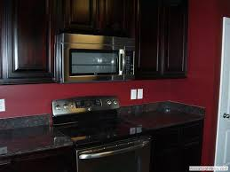 kitchen ideas dark cabinets. Brilliant Cabinets Red Kitchen Dark Countertops  13 Best Images About Updating Rooms On  Pinterest And Ideas Cabinets