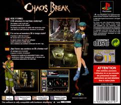 chaos break episode from chaos heat 2000 playstation box chaos break episode from x22 chaos heat x22 playstation back