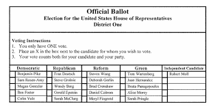 How To Make Ballots On Microsoft Word How Proportional Representation Elections Work Fairvote