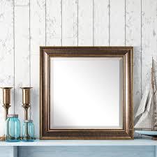 beveled bathroom vanity mirrors. Bentley Bronze Beveled Wall Vanity Mirror Bathroom Mirrors