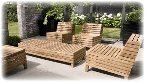 deck teak patio furniture