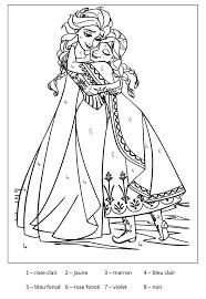 Magique Reine Des Neiges 2 Coloriage Magique Coloriages Pour