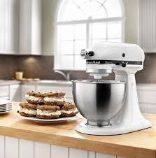 Quilted Kitchen Appliance Covers Amazoncom Kitchenaid Ksm75wh Classic Plus Series 45 Quart Tilt
