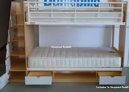 staircase bunk beds with storage