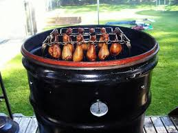 one of the most common durable and efficient types of meat smokers can be created out of a 55 gallon steel drum if you choose this method make sure you
