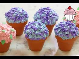 Flowerpot Cupcakes For Mothers Day W Anneorshine My Cupcake
