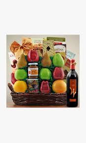 jerum wine fruit kosher food gift basket