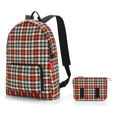 <b>Рюкзак складной Mini maxi</b> glencheck red купить в интернет ...