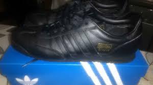 uk adidas shoes mens adidas dragon black leather rare uk 8 5 black