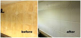 painting over tile backsplash remarkable decoration can you paint stunning ideas plastic tiles pictures on excellent