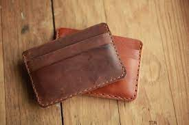 mens leather card wallet 061295