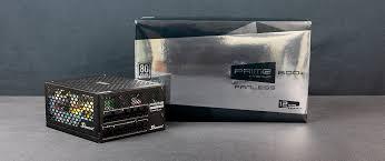 Обзор блока питания Seasonic PRIME Titanium ... - EpicTech