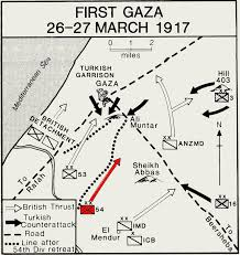 「battle of beersheba 1917 map」の画像検索結果