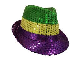 Details About Mardi Gras Sequin Jazz Fedora Top Hat Glitter Dancer Adult Costume Accessory