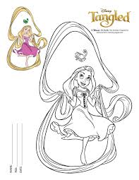 Small Picture Baby Rapunzel Coloring Pages Coloring Coloring Pages