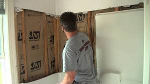 drywall behind tub surround how to install shower plumbing fixtures studs one piece stall home decor
