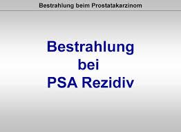 prostatakrebs rezidiv wahrscheinlichkeit