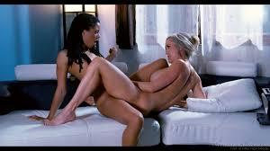 Interracial lesbian fun and scissor fucking with Kira Noir and.