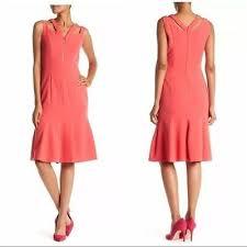 Alton Gray Size Chart New 139 Alton Gray Navy Blue Midi Dress Sz 14 Sweetheart