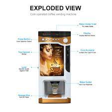 table top coffee vending machine