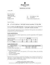 Sales Proposal Letter Sales Proposal Letter Template Template's 1