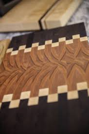 3d end grain cutting board plans. hand-crafted, end-grain cutting board: more durable that regular boards 3d end grain board plans