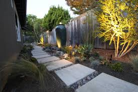 contemporary landscape lighting. mid century modern backyard ideas | lighting a mid-century landscape design contemporary 2