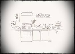simple kitchen drawing. Kitchen Drawing Redecor Your Home Decoration With Cool Ideal New Design Modest Images Of On Simple N