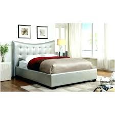 Grey Tufted Bed Frame Full Size Fabric Bed Frame Bed Heads Grey ...