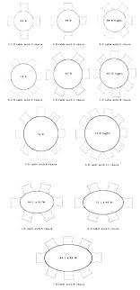 8 person round dining table dining table dimensions for 8 person round table 8 person round