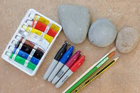 rocks stones pebbles go outdoors to collect some or from your local garden centre
