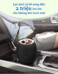 Phụ kiện bên trong ô tô] Máy khử mùi ô tô, máy lọc không khí ô tô cung cấp ion  âm tươi mát TS-1012A [ĐƯỢC KIỂM HÀNG] - 39342692