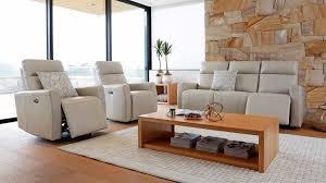 marli 3 piece powered italian leather recliner lounge suite harvey norman au