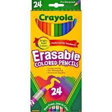 Walmart Erasable Colored Pencilsl L