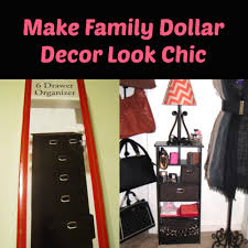 how to make family dollar decor look chic looking fly on a dime