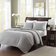 madison park keaton twin twin xl size quilt bedding set grey quilted 2 piece bedding quilt coverlets ultra soft microfiber bed quilts quilted