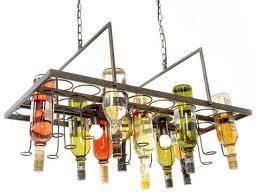 china recycled wine bottle pendant lamp