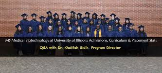 Ms Medical Biotechnology At Uic Admissions Placements