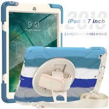 Ốp Lưng Máy Tính Bảng Dành Cho iPad 9.7 Inch A1822 A1823 A1893 A1954  2017/2018 Ốp Lưng Giảm Độ Chắc Chắn Làm Nhiệm Vụ Con Dành Cho iPad 9.7