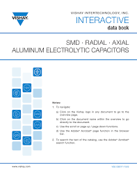 Smd Capacitor Size Chart Smd Radial And Axial Aluminum Electrolytic Capacitors