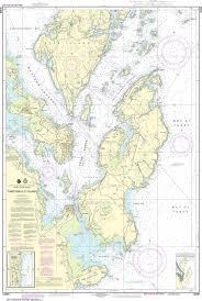 Noaa Nautical Chart 13396 Campobello Island Eastport Harbor