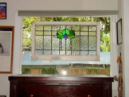 stained glass bevels religious reclaimed leaded regarding stain window covering decor 19