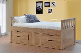 Bed With Storage Underneath sleepland oak rio captains bed with storage  underneath ntxkzve