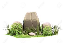 Design A Rock Large Natural Stones Stone Pointer Garden Design A Rock 3d