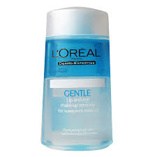 l 39 oreal gentle lip and eye remover for waterproof make up 125ml ทำความสะอาดผ