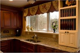 Kitchen Window Treatments Kitchen Various Interesting Window Treatments For A Beautiful